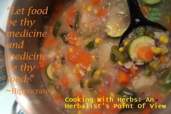 """Let Food Be thy Medicine"""