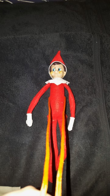 How to make a safety harness for your elf.