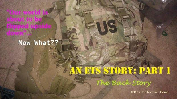 An ETS Story: Part 1